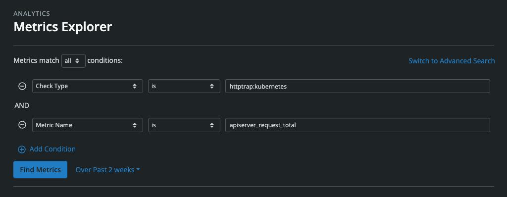 Metrics Explorer Query Builder